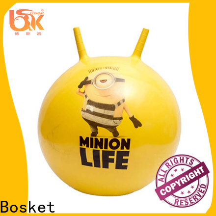 Bosket jumping ball with handle Suppliers for playing
