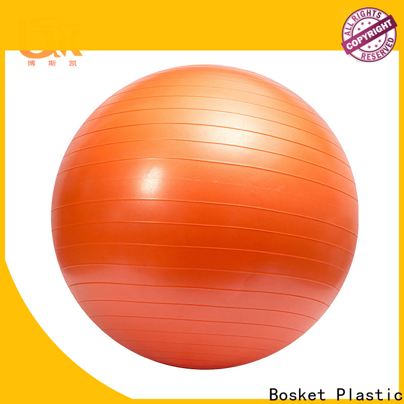 Bosket Best bouncing fitness ball factory for gym
