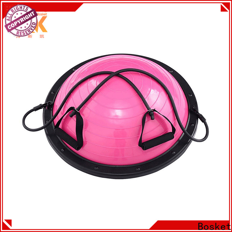 Wholesale pink pilates ball factory for balance training