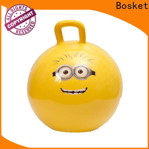 Bosket Best bouncy ball toy with handle company for kids