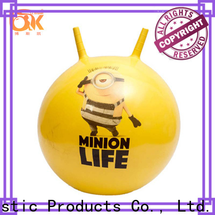 Bosket bouncy ball with handle for business for funning