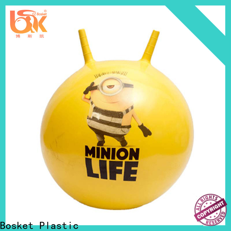 Bosket Latest bouncing pony hop ball manufacturers for playing