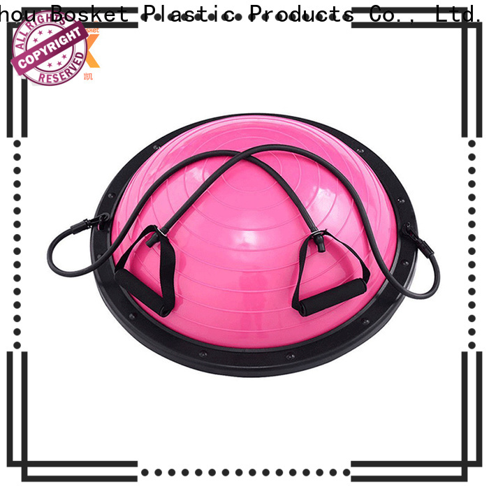 High-quality half moon stability ball factory for gym