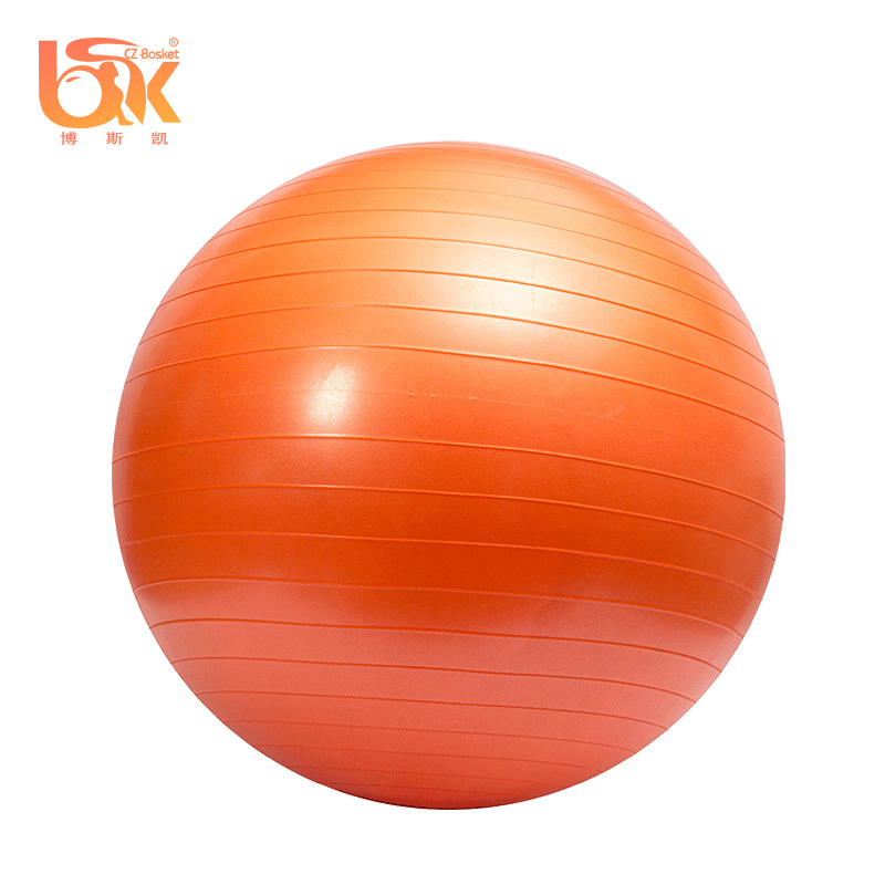 Customized Color Non-slip Anti-burst PVC Exercises Yoga stability ball for Pilates