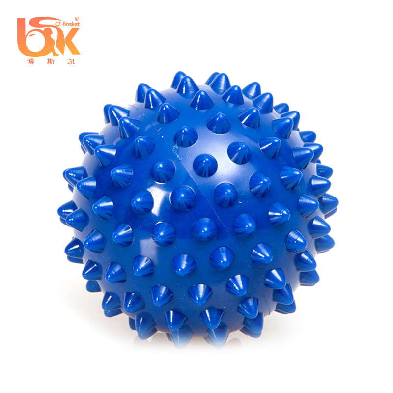 Bulk Small Pilates Spiky Deep Tissue Massage Ball for Back Pain Exercises