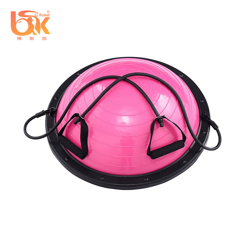 Gym Stability Pvc Half Balance Exercise Pilates Ball