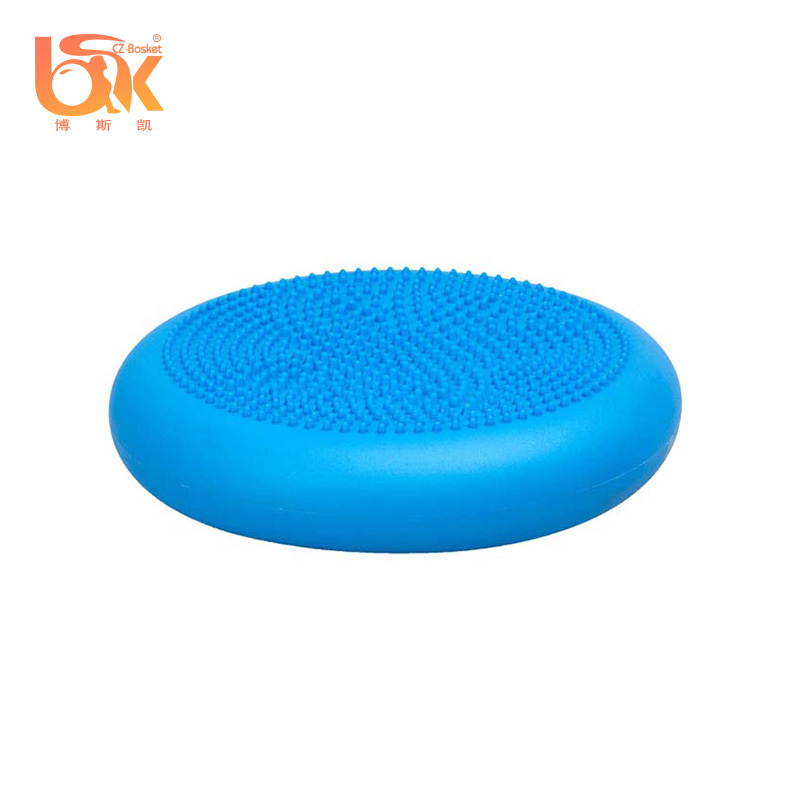 Body-building Exercise Colorful Massage Balance Stability Disc Seat Air Cushion