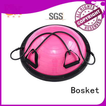 Bosket Wholesale gym equipment half ball for business for yoga exercise