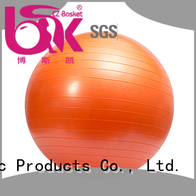 Bosket High-quality inflatable gym ball Supply for balance training
